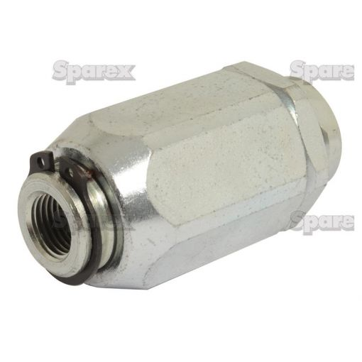 Hydraulic Barrel Flow Control Valve 3/8''BSP with free flow check S.101629