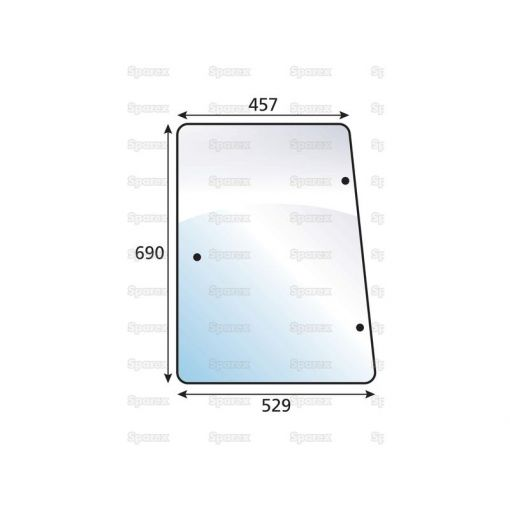 Side Glass LH/RH Tinted S.102231