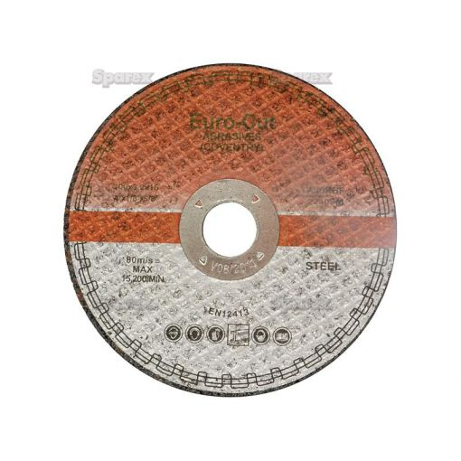 Metal Cutting Disc - Flat 100mm S.11749