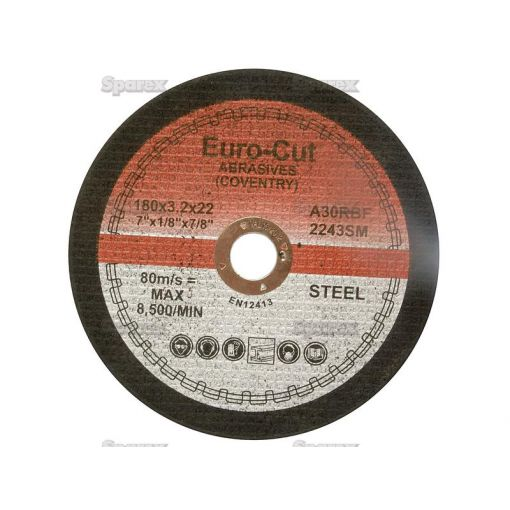 DISC-CUTTING-METAL-180MM FLAT S.11751