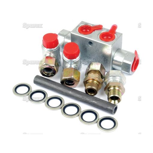 Hydraulic Double Acting Check Valve assembly for 2.3/8'' Hydraulic Top link S.12723