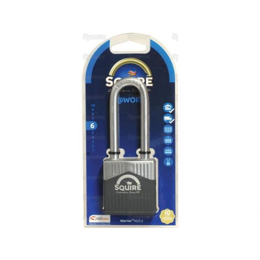 Squire 45/2.5 Warrior Padlock (Security rating: 6) S.129884