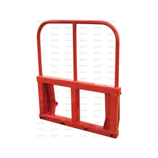 Heavy Duty Big Square Bale Frame with a High Back - Tines Not Included S.130802
