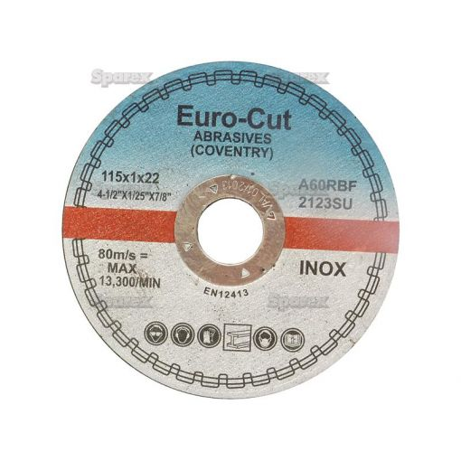 DISC-CUTTING-METAL-115X1.0MM S.13345