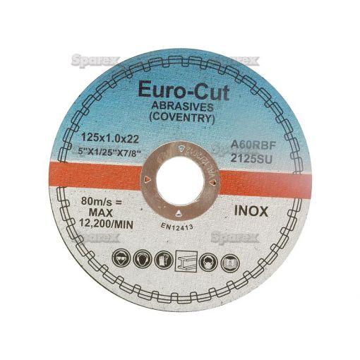DISC-CUTTING-METAL-125X1.0MM S.13347