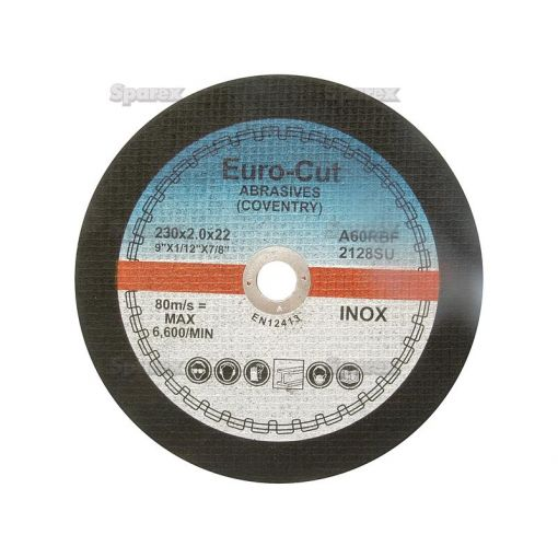 Metal Cutting Disc - Narrow Flat Type S.13478