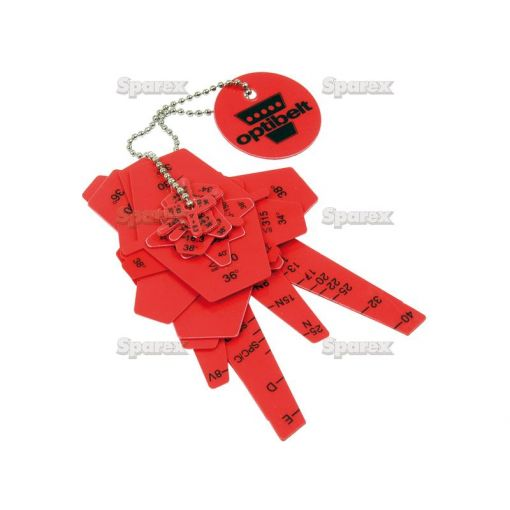 Belt Section & Pulley Groove templates S.13935
