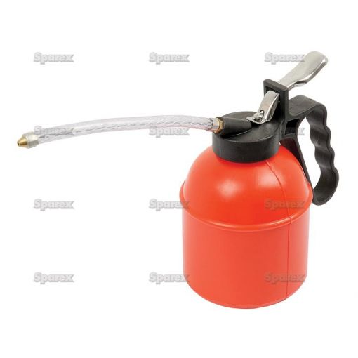 Plastic Oil Can With Flexible Delivery Tube S.14287