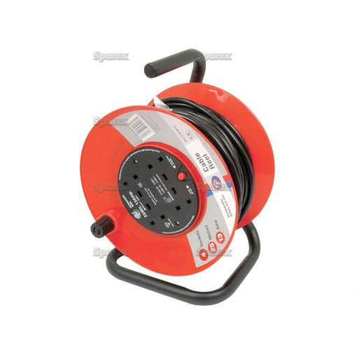 Domestic Extension Reel 13amp x 25m S.14852