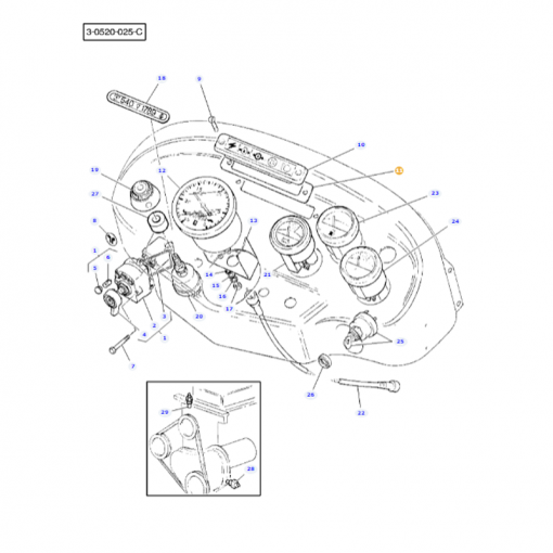 Housing Gasket - 1669957M1