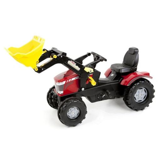 Massey Ferguson 7726 Pedal Tractor and Loader - X993070611133
