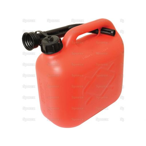 JERRY CAN-PLASTIC-RED-5L S.19321