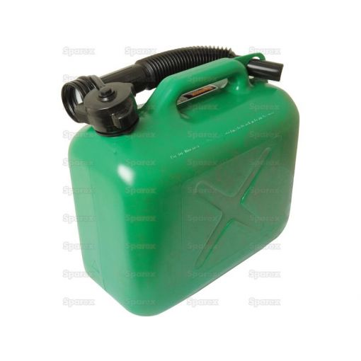 JERRY CAN-PLASTIC-GREEN-5L S.19322