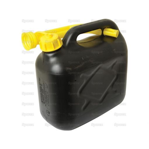 JERRY CAN-PLASTIC-BLACK-5L S.19323