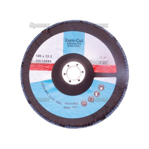 DISC-FLAP-180X22MM P80 S.20192