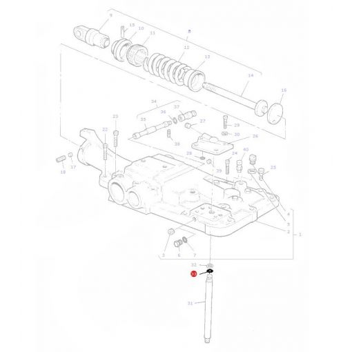 Stand Pipe ORing - 195561M1