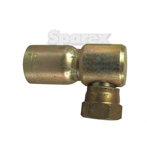 Hydraulic 1-Piece Swage Coupling Gates compatible 1/2'' Insert x 7/8''JIC90compact female S.2271408