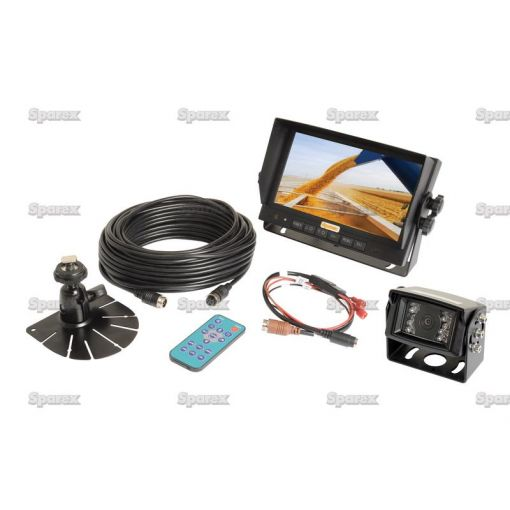 Wired Reversing Camera System with 7'' LCD Monitor & Camera S.23051