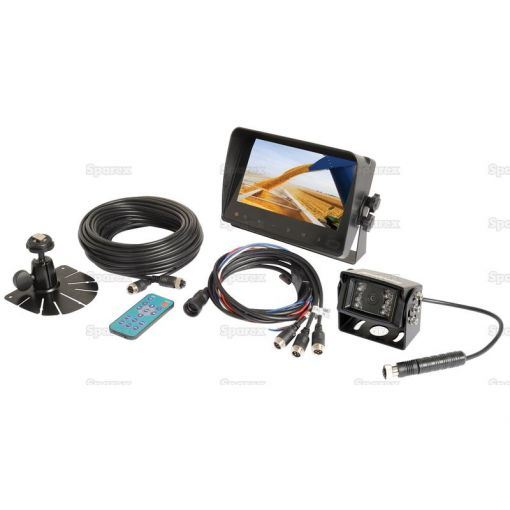 Wired Reversing Camera System with 7'' LCD Monitor & Camera S.23053