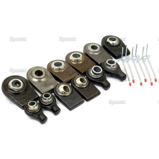 Top and Lower Link Weld On Ball Ends (12pcs.) S.23384