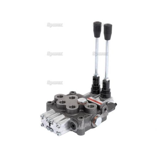 Hydraulic Monoblock Valve3/8''BSP Ports 2 Banks Single/Double acting Spring centered S.24439