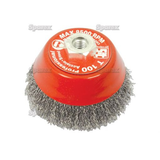 WIRE CUP BRUSH CRIMPED 100MM S.25363