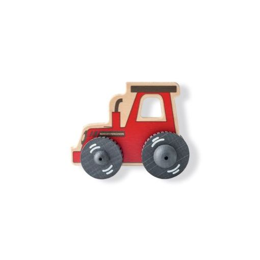 Wooden Push Tractor - X993311919000