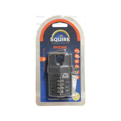 Squire Recodable CP Combination Padlock - Die Cast (Security rating: 6) S.26748