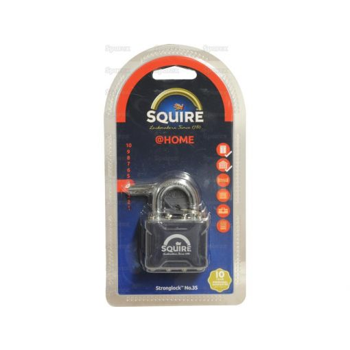 Squire Stronglock Pin Tumbler Padlock - Steel (Security rating: 4) S.26752