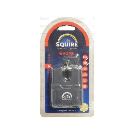 Squire Stronglock Pin Tumbler Padlock - Steel (Security rating: 6) S.26755