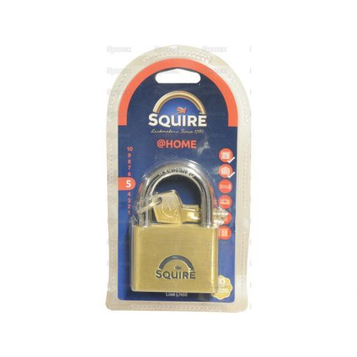 Squire Solid Brass Lion Range Padlock - Brass (Security rating: 5) S.26764