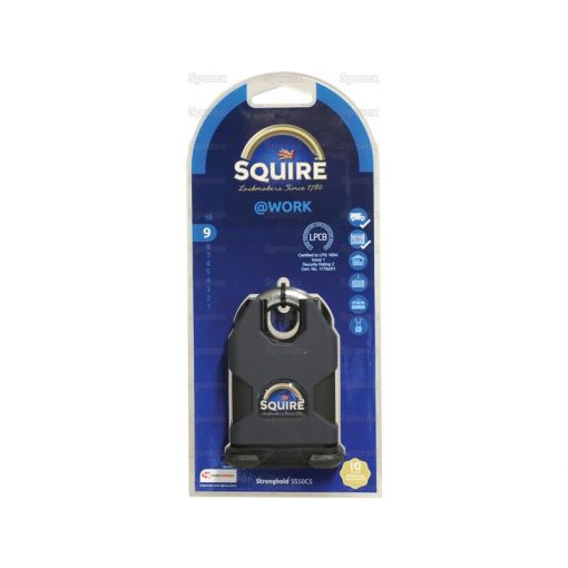Squire Stronghold Padlock - Hardened Steel (Security rating: 9) S.26771