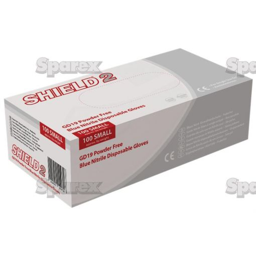 Disposable Nitrile Gloves - T.10/XL (Qty in Box: 100pcs.) S.27833