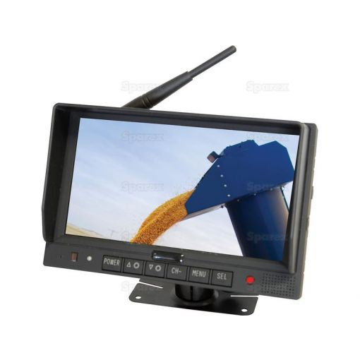 TFT LCD Digital Wireless 7'' colour Monitor with wide angle view and high resolution display S.28803