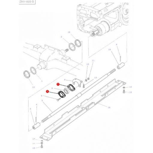 Bearing Carrier Plate - 3386986M1