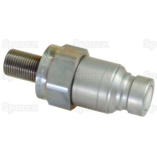 Flat Faced Hydraulic Coupling 1/2'' Male with M18 x 1.5 thread S.30545
