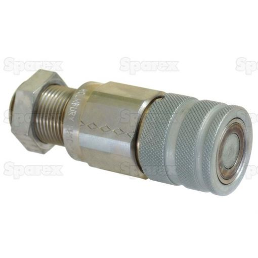 Flat Faced Hydraulic Coupling 3/8'' Female with M22 x 1.5 male thread S.30556