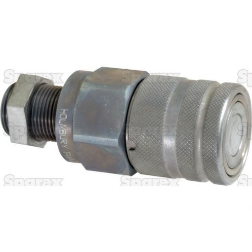 Flat Faced Hydraulic Coupling 1/2'' Male with M18 x 1.5 male thread S.30575