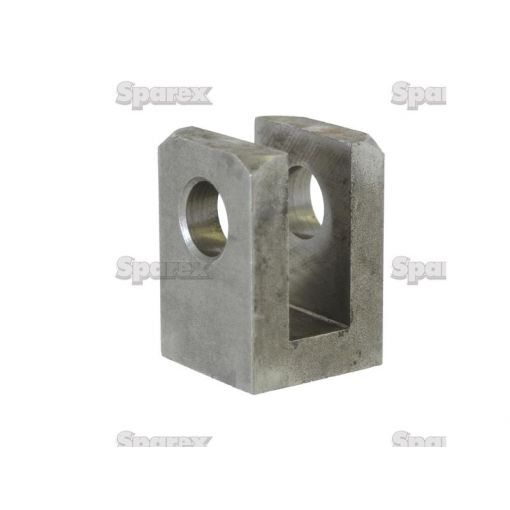 WELD ON CLEVIS 25MM BORE S.31226