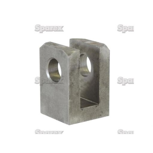 WELD ON CLEVIS 30MM BORE S.31227