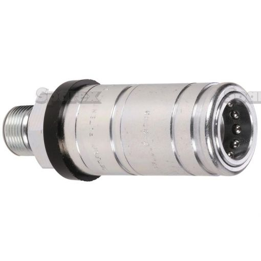 Hydraulic Quick Release Rigid Mounted Break-away Coupling 1/2'' Female with M22 x 1.5 male thread S.32044