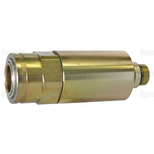 Hydraulic Quick Release Rigid Mounted Break-away Coupling 1/2'' Female with M22 x 1.5 male thread S.32054