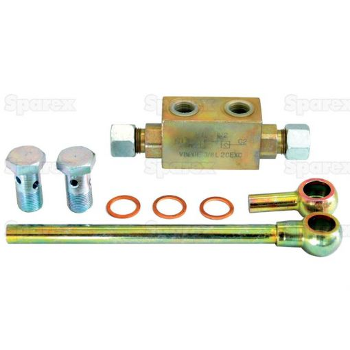 Hydraulic Double Acting Check Valve assembly for Hydraulic Top link S.33137