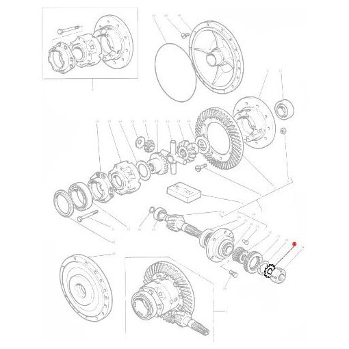 Washer Differential - 180455M1
