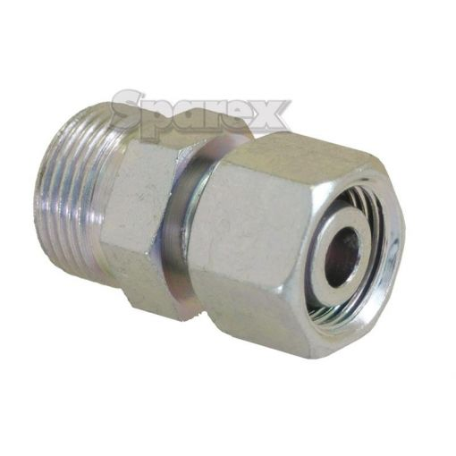 Hydraulic Metal Pipe Straight Reducer Coupling 8L / 10L S.34730