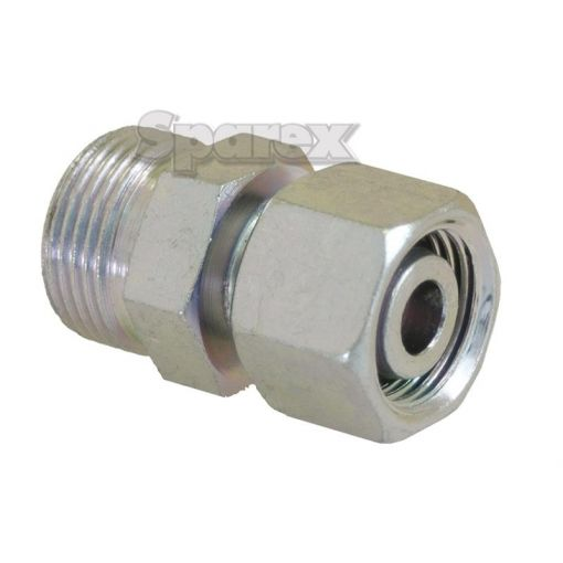 Hydraulic Metal Pipe Straight Reducer Coupling 12L / 15L S.34734