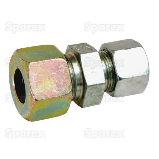 Hydraulic Metal Pipe Straight Reducer Coupling 12 / 6L S.34746