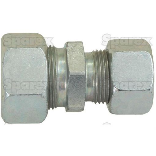 Hydraulic Metal Pipe Straight Reducer Coupling 12 / 8S S.34751