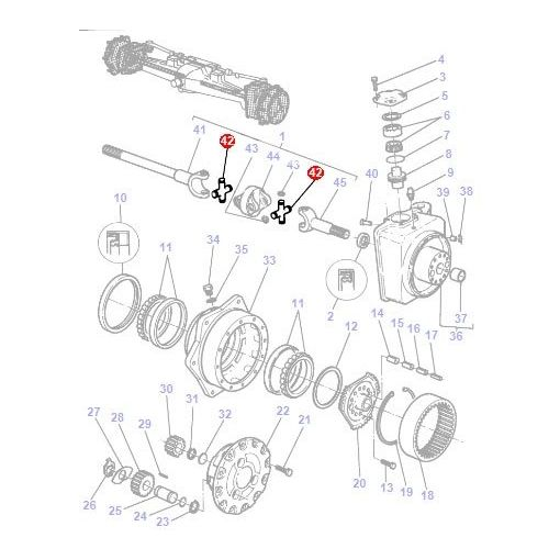 Universal Joint - 1429021M1
