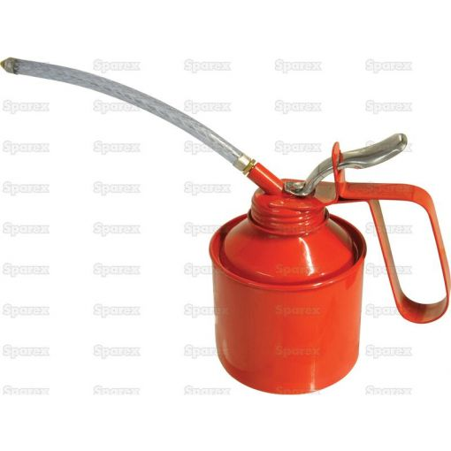 Metal Oil Can Standard Version supplied with flexible & Rigid tube S.3806